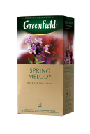 "/Чай черный 1,5г*25, пакет, ""Spring Melody"", GREENFIELD"