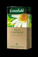 """/Чай травяной 1,5г*25, пакет, """"Rich Camomile"""", GREENFIELD"""