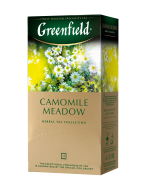 "/Чай травяной 1,5г*25, пакет, ""Camomile Meadow"", GREENFIELD"