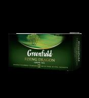 """/Чай зелёный 2г*25, пакет, """"Flying Dragon"""", GREENFIELD"""