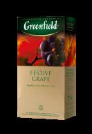 """/Чай травяной 2г*25, пакет, """"Festive Grape"""", GREENFIELD"""