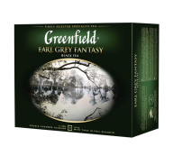 "/Чай черный 2г*50, пакет, ""Earl Grey Fantasy"", GREENFIELD"