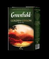 """/Чай черный 100г, лист, """"Golden Ceylon"""", GREENFIELD"""