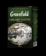 "/Чай черный 100г, лист, ""Earl Grey Fantasy"", GREENFIELD"