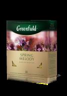 "/Чай черный 1,5г*100, пакет, ""Spring Melody"", GREENFIELD"