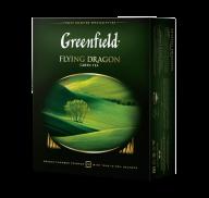 """/Чай зелёный 2г*100, пакет, """"Flying Dragon"""", GREENFIELD"""