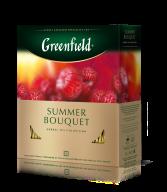 "/Чай травяной 2г*100, пакет, ""Summer Bouquet"", GREENFIELD"
