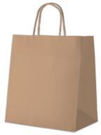 """/Пакет с ручками """"Ecobag"""", 305*170*340, коричневый"""