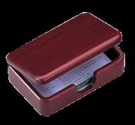 """@$Дер.контейнер для визиток,""""кр.дер."""""""