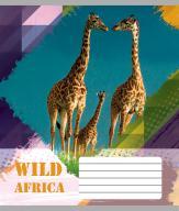 """/Тетрадь 18л. (линия), 2428л """"Животные Африки"""""""