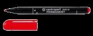 /Маркер водост. Permanent тонкопиш. 1мм, красный
