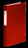 $Регистратор А4/4R/25PP см.инд., красный