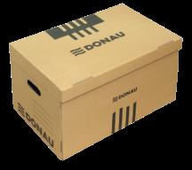 Короб для архивных боксов, коричневый