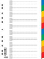 Цифровой индекс - разделитель А4, 10 поз., цветн., с листом описи