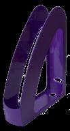 """/Лоток пласт. д/бумаг вертик. """"Радуга"""" с передней стенкой, JOBMAX, фиолетовый"""