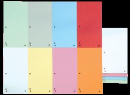 Индекс-разделитель 10,5х23см (100шт.), картон, ассорти