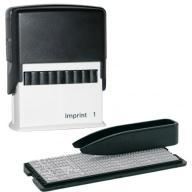 /Самонаборный штамп серия Imprint ,4-х строчный (8912) +касса 6003, 6004