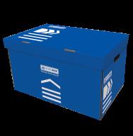 /Короб для архивных боксов, 560х380х265 мм, синий