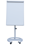 $Флипчарт магнитный сухост., 70 х100 cм, мобильный, вертикальный