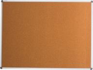 $Доска пробковая, 90х120 см, алюминиевая рамка