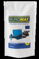 $Салфетки для чистки экранов, мониторов и оптики, влажные, сменный блок, 100 шт. в пласт.пакете