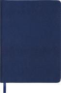 Ежедневник недат.AMAZONIA, L2U, A5, синий, иск.кожа