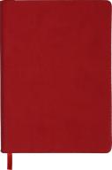 Ежедневник недат. AMAZONIA, L2U,A5, красный, иск.кожа