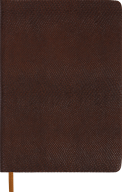 Ежедневник недат.AMAZONIA, L2U, A5, коричневый, иск.кожа