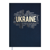 Ежедневник недат. UKRAINE, A5, синий