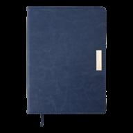 Ежедневник недат. SALERNO, A5, синий, иск. кожа