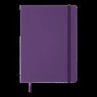 Ежедневник недат. TOUCH ME, L2U, A5, фиолетовый, иск.кожа
