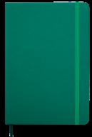 Ежедневник недат. TOUCH ME, L2U, A5, зеленый, иск.кожа