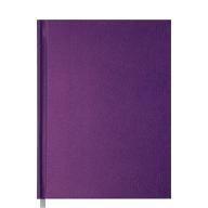 @Ежедневник недат. PERLA, A5, фиолетовый, бумвинил