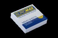 /Блок белой бумаги для записей, JOBMAX 80х80х20 мм, склеенный