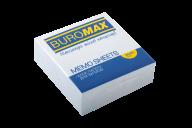 /Блок белой бумаги для записей, JOBMAX 90х90х30 мм, склеенный