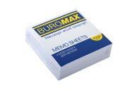 /Блок белой бумаги для записей, JOBMAX 90х90х30 мм, не склеенный