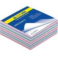/Блок бумаги для записей ЗЕБРА, 90х90х40 мм, склееенный