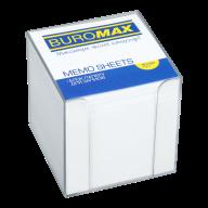 /Бокс пластиковый с белой бумагой, 90х90х90 мм, прозрачный