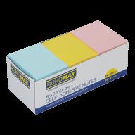 #$Блок бумаги для записей PASTEL, 38х51 мм, 3 цв. по 100 л.