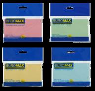 ^Блок бумаги для записей PASTEL, 127х76 мм, 100 л., 4 цв. ассорти