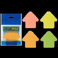 #^Блок бумаги для записей СТРЕЛКА, 50 л, оранжевый