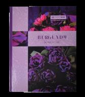 /Книга канцелярская  BOHO CHIC, А4, 96 л., клетка, офсет, твердая ламинированная обложка, фиолетова