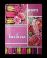 /Книга канцелярская BOHO CHIC, А4, 96 л., линия, офсет, твердая ламинированная обложка, розовая