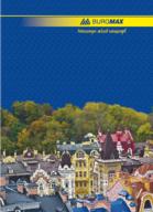 /Книга канцелярская CLASSIC, А4, 96 л., линия, офсет, твердая ламинированная обложка, синяя
