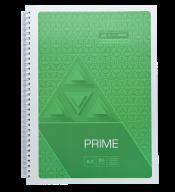 /Тетрадь для записей PRIME, А4, 96 л., клетка, картонная обложка, салатовая