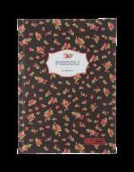 /Записная книжка PICCOLI, А5, 80 л., клетка, интегральная обложка, коричневая