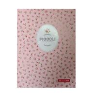 /Записная книжка PICCOLI, А5, 80 л., клетка, интегральная обложка, светло-розовая