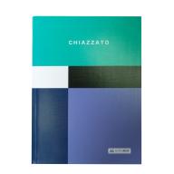 /Записная книжка CHIAZZATO, А5, 80 л., клетка, интегральная обложка, бирюзовая