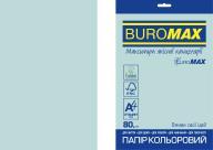 Бумага цветная PASTEL, EUROMAX, голубая, 20 л., А4, 80 г/м²