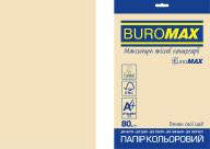 Бумага цветная PASTEL, EUROMAX, крем., 20 л., А4, 80 г/м²